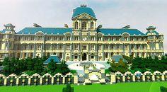 Louvre Mansion Minecraft World Save
