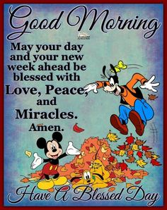 Good Morning Disney, Good Morning Happy Thursday, Good Night Love Quotes, Good Morning Beautiful Quotes, Funny Good Morning Quotes, Morning Greetings Quotes, Good Morning Gif, Good Morning Picture, Good Morning Messages