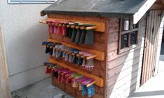 Wellie Rack / Boot rack / Shoe Rack Heavy Duty Colours available