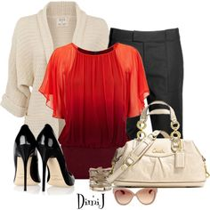 """Office look - Dress to Impress"" by dimij on Polyvore"