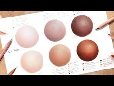 How To Draw Realistic Skin With Coloured Pencils: Part 1 Advent Day 13 - YouTube