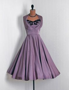 1950s Vintage lilac couture dress  CLICK THE PIC and Learn how you can EARN MONEY while still having fun on Pinterest