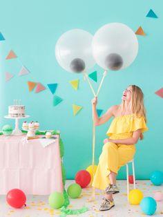 Гигантские Googly глаз Воздушные шары |  О счастливый день!