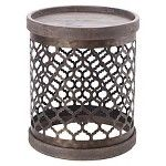 Cirque Wire Accent Table - Grey