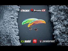 New Dudek Paragliders Snake XX 2015 - YouTube
