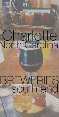 Charlotte offers a variety of different breweries, here are a few reviews of the ones found in the district of South End!