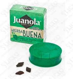 JUANOLA PASTILLAS HIERBABUENA 5.4 GR