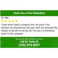 I have never loved a company like I do yours! Your services are phenomenal and your staff...