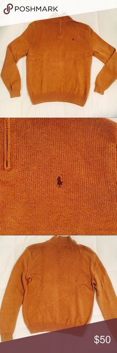 Polo pullover size large Tan polo cable knit pullover. In perfect condition. Posted on Ⓜ️ercari at a discounted price! Polo by Ralph Lauren Sweaters Shrugs & Ponchos