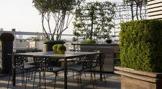 rooftop terrace, paris