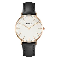 CLUSE La Bohème Rose Gold White/Black CL18008