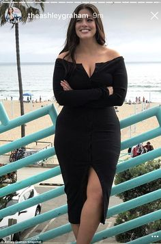 Life's a beach: The Nebraska-born beauty posed in front of the Pacific Ocean Saturday...