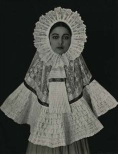 """Rosa Covarrubias in Tehuana dress"" by Edward Weston, 1926"
