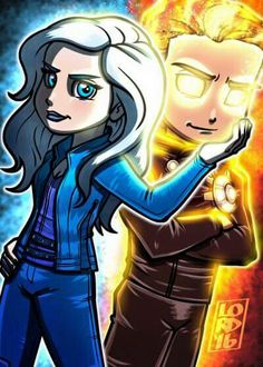 Fire and Ice  Lord Mesa art