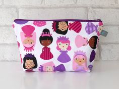 Girls Make Up Bag // Children's Wash Bag // by ollieandroo on Etsy