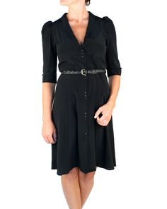 Juliette Hogan  Carrie Dress - Black  http://www.preciouspeg.com/designers/juliette-hogan/carrie-dress-black.html