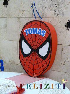 Piñata Hombre Araña Spaider Man, 3rd Birthday, Birthday Parties, Happy Party, Boss Baby, Holidays And Events, Birthdays, Kitty, Handmade
