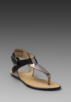 Joes Jeans Kandy Sandal in Silver