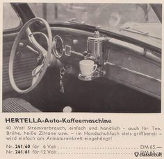 Machine à café options d'époque !
