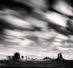 Morning clouds, Monument Valley, Utah USA