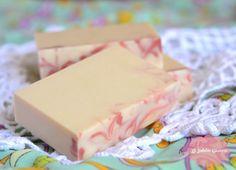 Jabón natural de Yogur y Fresa