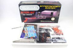 NES Nintendo Entertainment System Action Set, Zapper, Mario, Duck Hunt, New