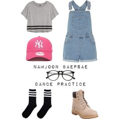 A fashion look from June 2016 featuring H&M tops, Dorothy Perkins rompers e Timberland boots. Browse and shop related looks.