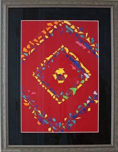 "A Prizewinning Quilt by Geri deGruy Fiber ~ 27"" x 21 1/16"""