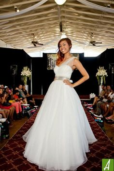 Premier Bridal Shows' Fashion Show at the Radisson Hotel Newport Beach.