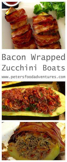 Italian Meatloaf In Zucchini Boats Recipe — Dishmaps