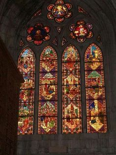 Vidriera de la Catedral.