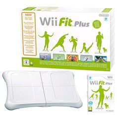 wii fit plus e balance board!