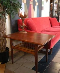Pair of Mid Century Solid Teak End Tables End Tables, Teak, Mid Century, Mesas, Side Tables, Retro