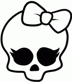 monster high skull drawings | How to Draw Monster High, Step by Step, Characters, Pop Culture, FREE ...