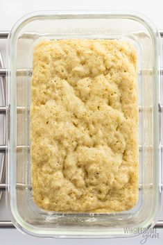 Keto 90 Second Bread with Almond Flour - Low Carb Recipe - A keto 90 second bread recipe with 5 ingredients! This low carb 90 second bread with almond flour is chewy, with texture like real bread.