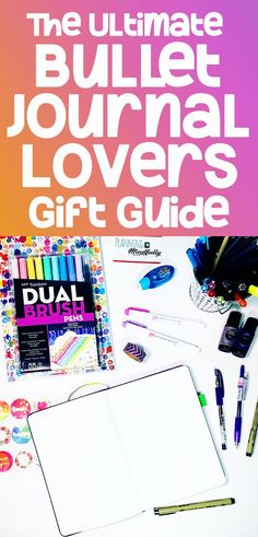 Need to buy a present for the bullet journal lover in your life? Try these amazing stationery supplies and fun bujo accessories. Bullet journal gift ideas for the journal and planner lover! Bullet Journal Gift List, Bullet Journal Hacks, Bullet Journal Printables, Bullet Journal How To Start A, Bullet Journal Spread, Bullet Journal Layout, Bullet Journal Inspiration, Journal Ideas, Bullet Journals