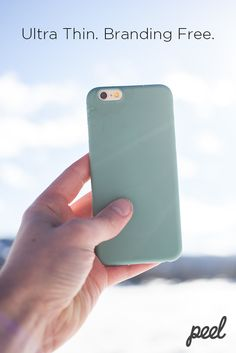 Peel is the ultimate iPhone case for people who hate cases. Incredibly thin and branding free, it's almost like having nothing at all. You can protect your phone from light bumps and scratches without having to compromise your iPhone already sleek design. Whether it's clear or colored you're looking for, Peel has you and your phone covered :)