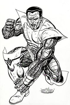 Colossus commission by John Byrne. 2006.