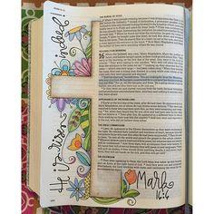 Art Journal Ideas Doodles Creative Bible Studies 52 Ideas For 2019 Bible Study Journal, Scripture Study, Bible Art, Art Journaling, Scripture Journal, Bible Journaling For Beginners, Book Art, Prayer Journals, Journal Art
