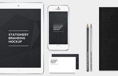 Medialoot - Free Stationery Branding Mockup Pack