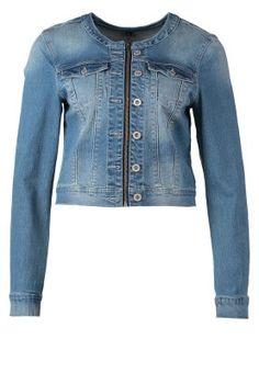 PETRA - Kurtka jeansowa - niebieski
