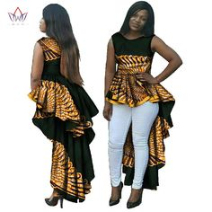 29fef84ab25 Online Shop Dashiki African Wax Print Long Dresses for Women Plus Size  African Style Women Clothing