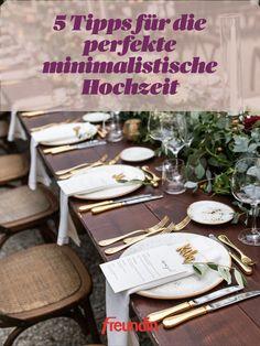 Table Settings, Inspiration, Wedding Bride, Wedding, Apple Crumble Recipe, Minimalist, Tips, Recipies, Nice Asses