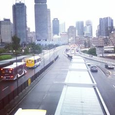 Brisbane City yesterday after the storm we had #Brisbane #Storm #city