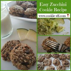 Easy Zucchini Cookie Recipe: ingredients, directions, and special baking tips from The Elf to make this oatmeal cookie recipe variation. Zucchini Cookie Recipes, Zucchini Cookies, Drop Cookie Recipes, Oatmeal Cookie Recipes, Oatmeal Cookies, Cookie Gift Baskets, Drop Cookies, Bar Cookies