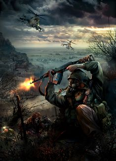Rate this art from 😱 Fallout Posters, Fallout Art, Apocalypse Art, Apocalypse Survival, Arte Do Pulp Fiction, Post Apocalyptic Art, End Of The World, Military Art, Cthulhu