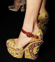the latest womens shoe trends for 2014 | ... /2014 WOMEN'S MOSAIC JEWELLRY AND SHOE COLLECTION MILAN FASHION WEEK