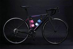 Glow-In-Dark: Bike Water Bottle As Illumination