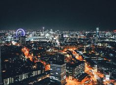 London City Nightime Photo on Hand Luggage Only Blog (3)