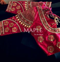 "2 Likes, 1 Comments - Maple The Boutique (@mapletheboutique) on Instagram: ""For a classy bride to be #customisation #malaysianbride #indianwedding #southindianbride…"""